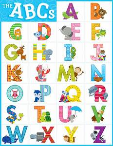 school posters for children the abcs alphabet fun With poster alphabet letters