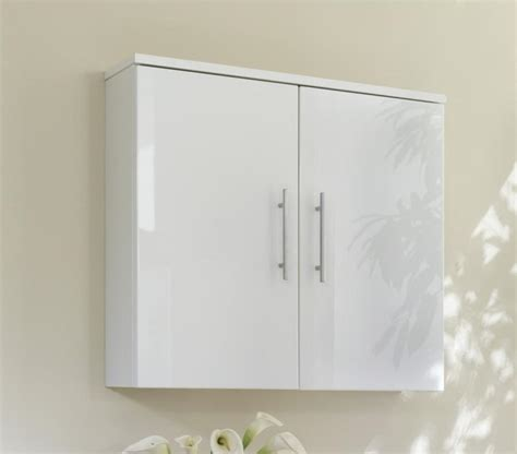 gloss white bathroom wall cabinet home furniture design