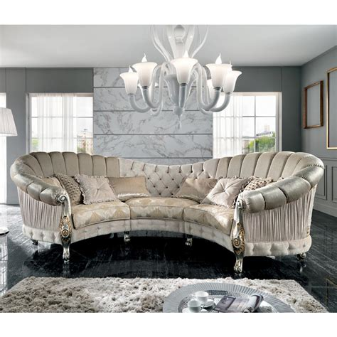 italian loveseat italian 6 seater fabric sofa classic design
