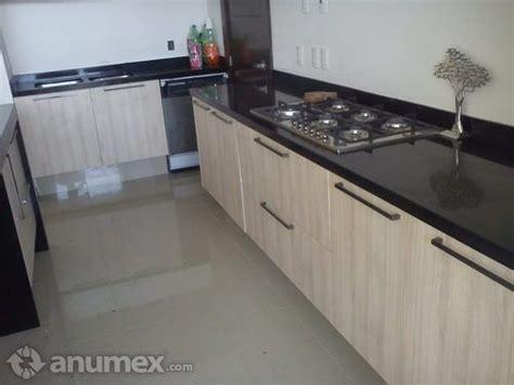 cubierta de cocina de granito negro de lujo  house