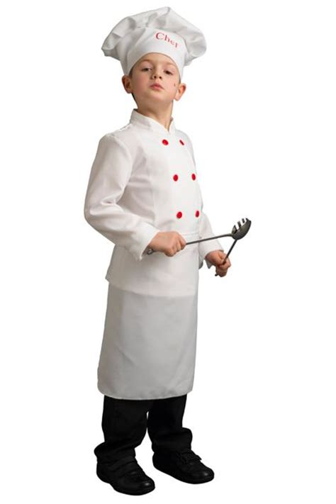 veste de cuisine une tenue de chef cuisinier pour enfant cuistot le