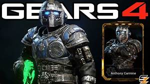 Gears Of War 4 QuotAnthony Carminequot Character Multiplayer