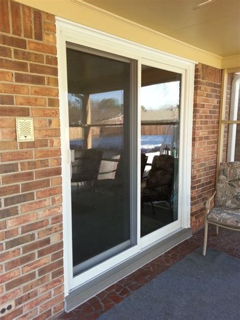 simonton stormbreaker gliding patio door with impact