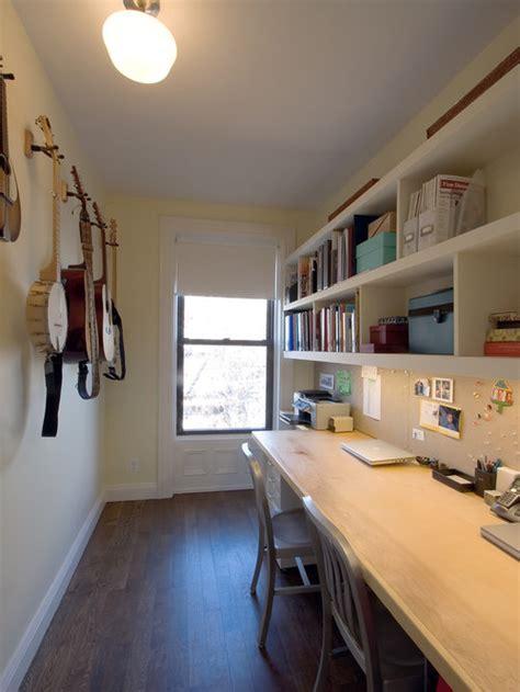 narrow office space houzz