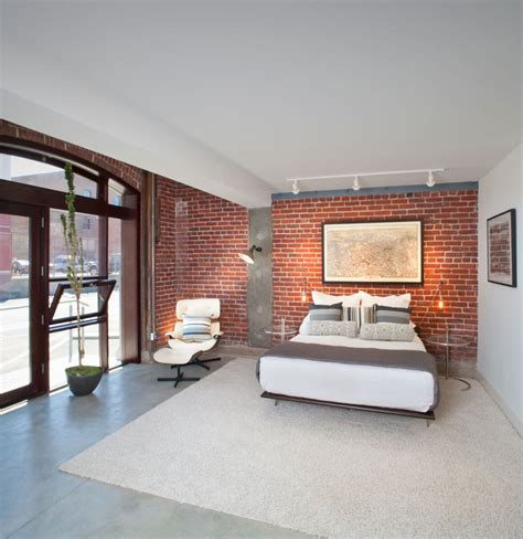 chambre interiors 25 brick wall designs decor ideas design trends