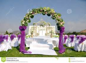 indian wedding decorations outdoor wedding stock images image 16647964
