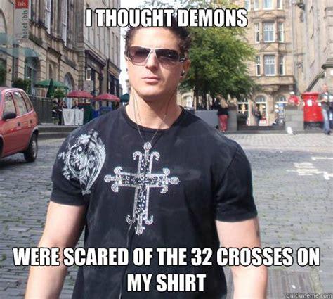 Ed Hardy Meme - douchebag ghost hunter memes quickmeme