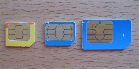 micro sim karty novy standard