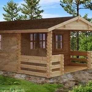 Case in legno blockhaus da 16 Mq a 30 Mq Legnonaturale COM
