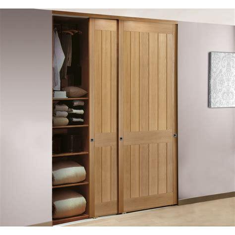 meuble de rangement chambre adapter une porte coulissante pour placard