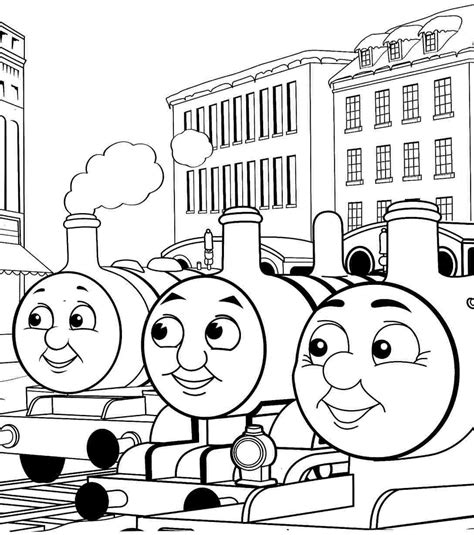 thomas  friends printable coloring pages google