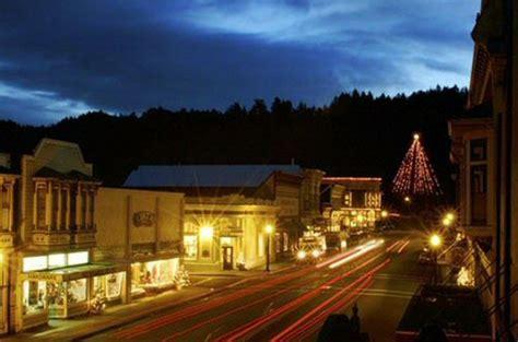 christmas main streets  northern california