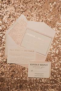 17 best images about rose gold wedding love on pinterest With rose gold glitter wedding invitations uk