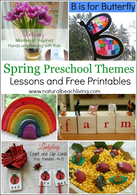 24 rainbow activities for living 433 | spring themes pin1