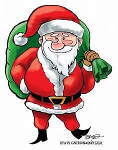 Free Christmas Santa Claus Cartoon Cartoon