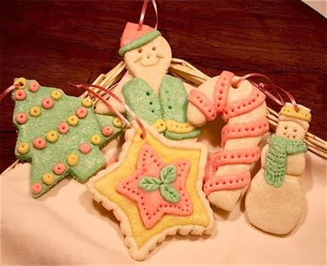 baked dough christmas ornaments