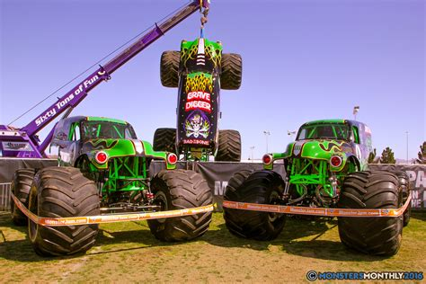 monster truck shows 2016 monster jam world finals pit party monsters monthly
