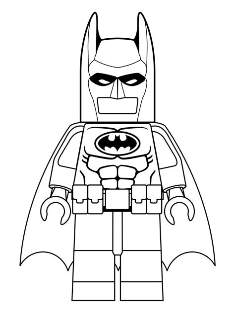 Batman 3 Kleurplaat by N 16 Kleurplaten Lego Batman