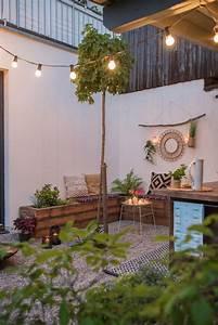 Wanddeko Für Garten : diy terrassen makeover vorher nachher teil 2 leelah ~ Watch28wear.com Haus und Dekorationen