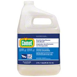 Comet Bathroom Cleaner Msds Sheet by P G Comet 174 Disinfecting Cleaner W Gal