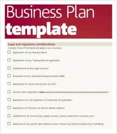 Sample Business Plan Template PDF