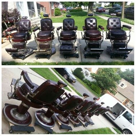 many antique barber chair sets avail new custom barber
