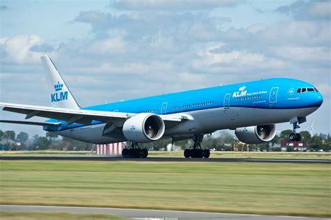 nieuw interieur klm 777 klm boeing 777 alle vliegtuigen foto s