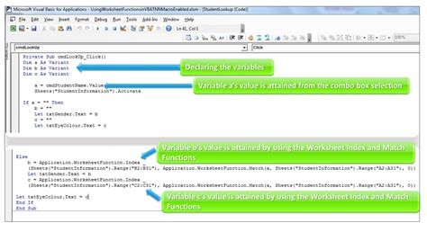 How To Use Index & Match Worksheet Functions In Excel Vba