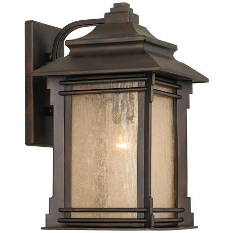 franklin iron works hickory point 15 quot high outdoor light