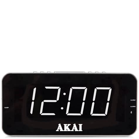 Akai Jumbo Amfm Alarm Clock Radio With Lcd Display