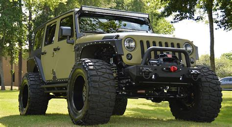 Jeep Wrangler Unlimited Modification by Our Five Favorite Wrangler Modifications