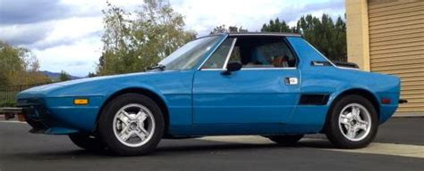 1976 Fiat X19 by 1976 Fiat X19 Classic Fiat Other 1976 For Sale