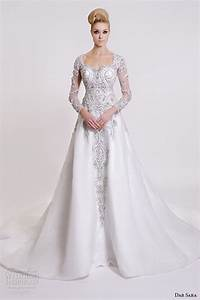 dar sara 2016 wedding dresses wedding inspirasi With long sleeve beaded wedding dress