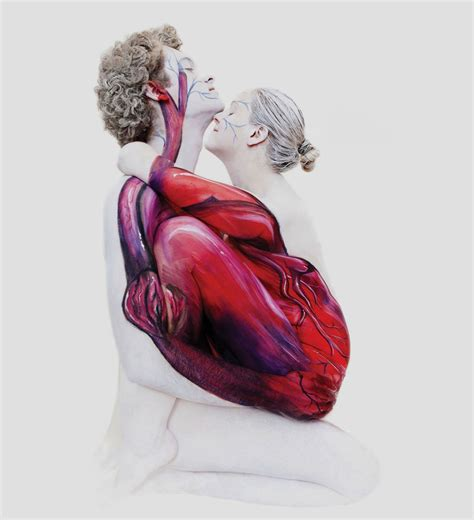 craziest body paintings  animals  nature