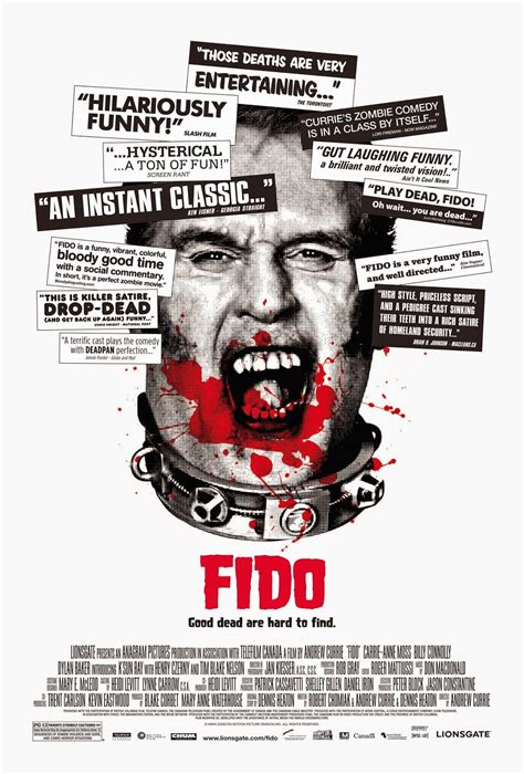 fido 2006 movie poster zombie currie film andrew cinemorgue horror thursday wiki week halloween wikia movies billy films closer posters