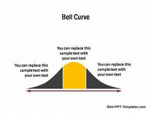 powerpoint model templates for subscribers With bell curve powerpoint template