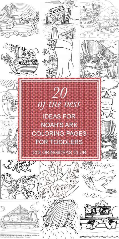 ideas  noahs ark coloring pages  toddlers   coloring pages