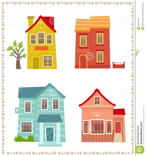 histoire de chambres deux chambres d 39 histoire illustration de vecteur