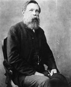 A man like his beard: Friedrich Engels 1888 in London