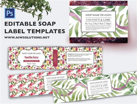 soap label templates soap label template id48 aiwsolutions