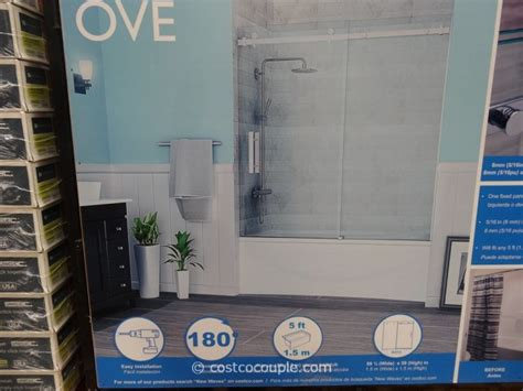ove decors   premium rolling tub door