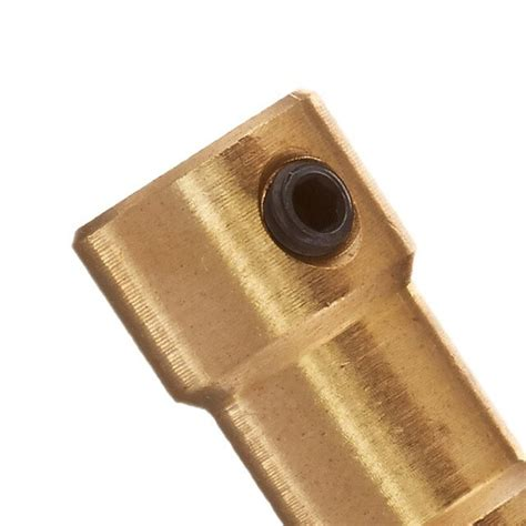 rc airplane mm  mm brass motor coupling shaft coupler connector  shaft couplings  home