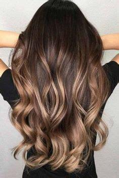 dark brown hair  dustyrosy dark blonde balayage