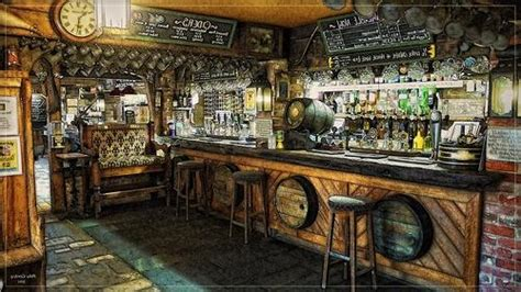 english pub interior