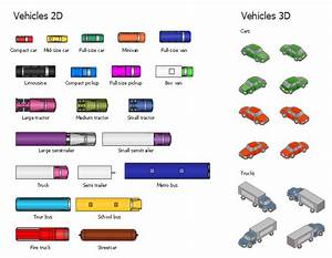 Design Elements - Vehicles 2d  3d