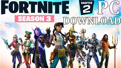 How To Download Fortnite On PC/Download PC Fortnite - YouTube