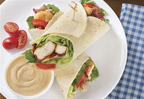 barbecue chicken wrap aldi