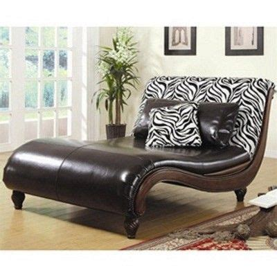 chaise zebre zebra print faux leather chaise lounge chair