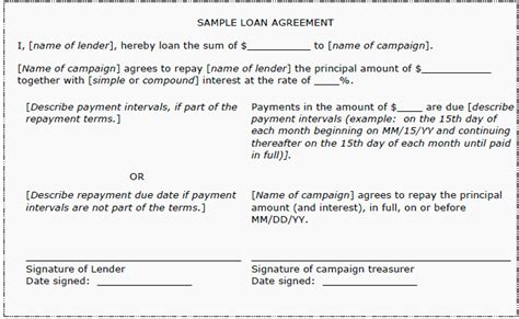 simple interest contract form simple interest loan agreement staruptalent