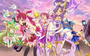 Wallpaper League Of Legends, Jinx, Lux, Janna, Lulu, Chibi ...